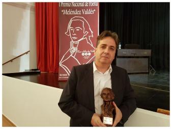 D. Jordi Doce Premio Nacional de Poesía Melendez Valdes